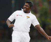 Wily Herath takes hat-trick against Australia