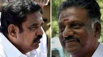 AIADMK factions merge; CM, OPS shake hands