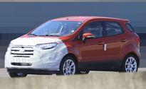 India-Bound Ford EcoSport Facelift Spotted Testing In Europe