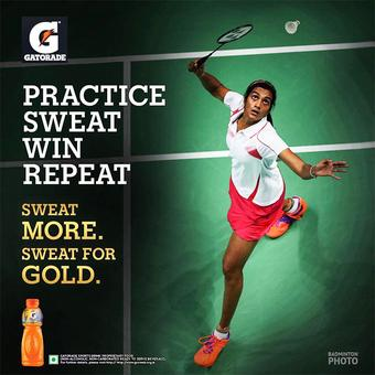 Sindhu & Gopichand lure India towards sport drinks