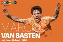 Euro Cult heroes: Marco van Basten - 'Most Beautiful Striker' scored ultimate Dutch volley of Euro '88
