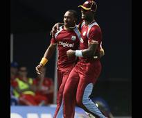 West Indies chose to bat first versus England
