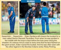 Man of the 'fan' match: Sachin