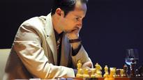 Grandmaster Veselin Topalov draws Anish Giri