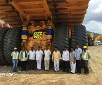 BELAZ-7530 V16 2300 HP Truck Is Being Used In India
