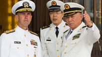 Top US admiral says China exchanges conditional on safety
