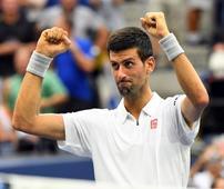 Djokovic solves Monfils puzzle to reach U.S. Open final
