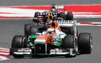 Di Resta seventh in Spain