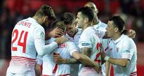 Sevilla well placed to join Barcelona in final after 4-0 romp
