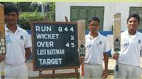 Another school cricket feat: Now a team beaten by 812 runs in CAB tournament