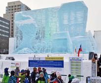 Sapporo Snow Festival entertains visitors with 208 frozen sculptures