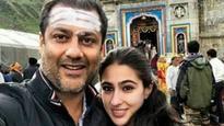 Sara Ali Khan starts prepping for her debut film, visits Kedarnath for a recce