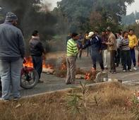 Irked over PDD, villagers block national highway