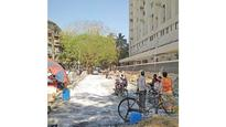 Bombay Hospital road to be ready by April
