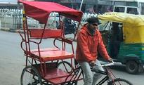 Robbers in East Delhi hound rickshaw pullers at night
