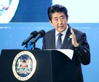 Japan's Abe seeks to counter China's influence in Africa