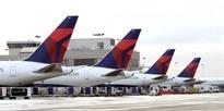 Delta's A321 jets off on first customer flight