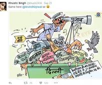 Time you got the hint: Twitter trolls Kejriwal AGAIN