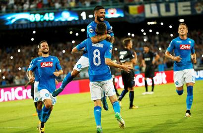 Champions League: Napoli beat nine-man Nice; Celtic thump Astana
