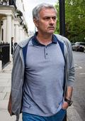 Jose Mourinho pictured leaving London home after Louis van Gaal appears to confirm Manchester United exit