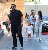 Kourtney Kardashian and Scott Disick spend time with Mason and Penelope