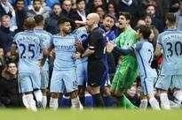 Manchester City striker Sergio Aguero gets four-match ban for violent conduct