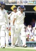 Ashes: Starc removes Cook but England new boys hold firm