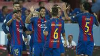 Luis Suarez wary of Sevilla despite first-leg win
