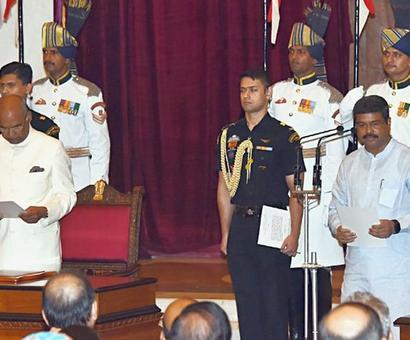 When President corrected Pradhan: All that happened at Rashtrapati Bhavan
