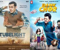 Salman's TUBELIGHT is good to decent, 8 crore for BANK CHOR Vivek-Riteish!