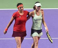 28 not out: Sania Mirza-Martina Hingis equal record for longest winning run