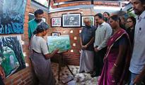 Painter Santha can paint in peace