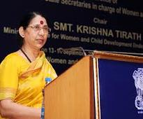 Smt. Krishna Tirath Launches the World Bank Assisted ISSNIP