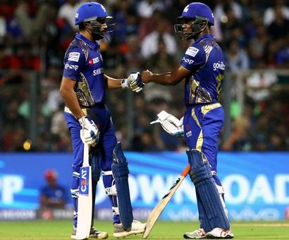 Lewis helped me settle down: Rohit Sharma