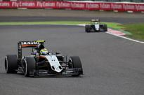 Force India moves clear of Williams in fight for fourth