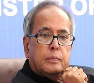 Pranab Mukherjee inaugurates an audio-visual section in Rashtrapati Bhavan library