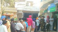 Banks and ATMs run out of cash as Tuesday witnesses greater rush in Patiala