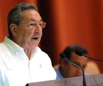 Raul Castro Delegate to 7th Cuban Communist Party Congress