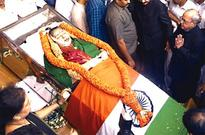 Jaya buried with full state honours
