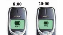 This Nokia 3310 has survived 17 years of service and two wars, and it still gives 10 days of battery life