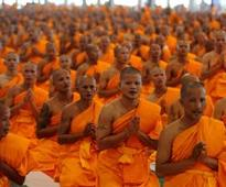 Thai monks slammed for private jet ride