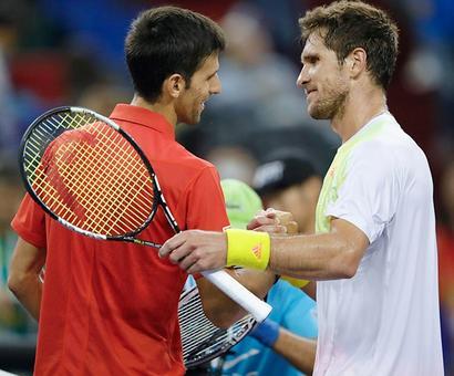 Shanghai Masters: Djokovic survives Zverev scare, Murray cruises