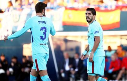 La Liga: Barcelona to appeal Suarez, Pique yellow cards