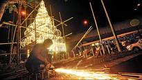 BMC engineers get into Make in India spirit, put up art installation