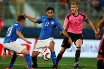 Graziano Pelle scores as Italy warm-up for Euro 2016 with victory over Scotland