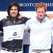 Prince Harry And Valentino Join Nacho Figueras For Polo