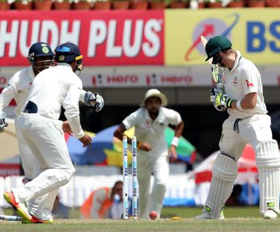 PHOTOS: India vs Australia, 3rd Test, Day 5