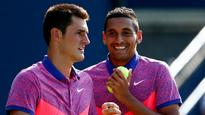 Tomic and Kyrgios lined up to meet at US Open