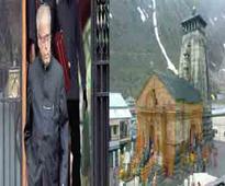 President visits Kedarnath temple, offers prayers