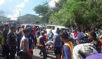 Death toll after Philippine bus plunge rises to 31